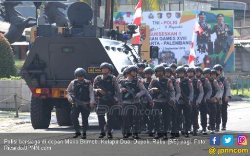 57 Orang Diduga Teroris Masuk Jakarta, Apa Reaksi Polri?