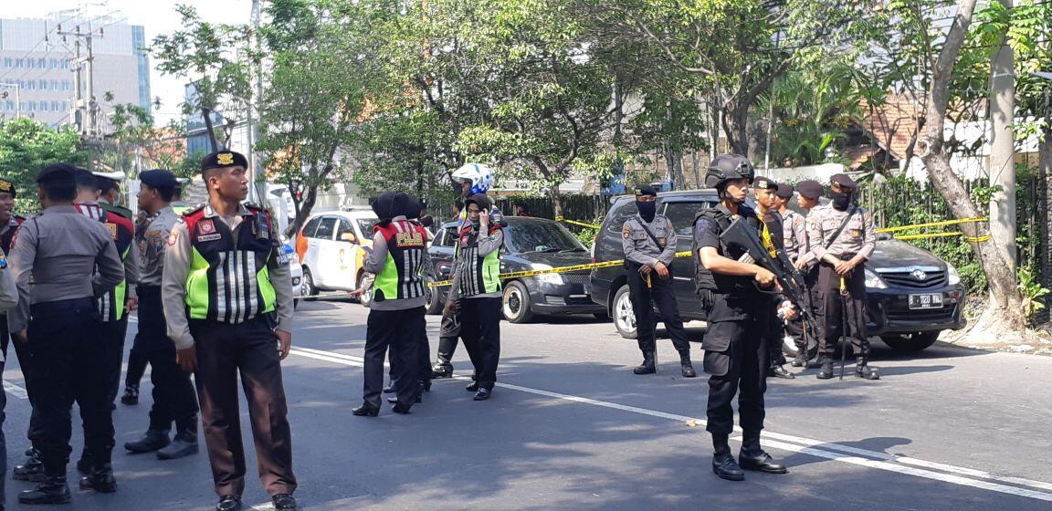 Polda Metro Jaya Nyatakan Siaga I Pasca Teror Bom Surabaya