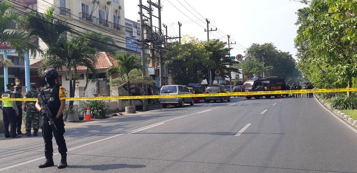 Kesaksian Juru Parkir Detik-Detik Jelang Ledakan Bom di GKI Surabaya
