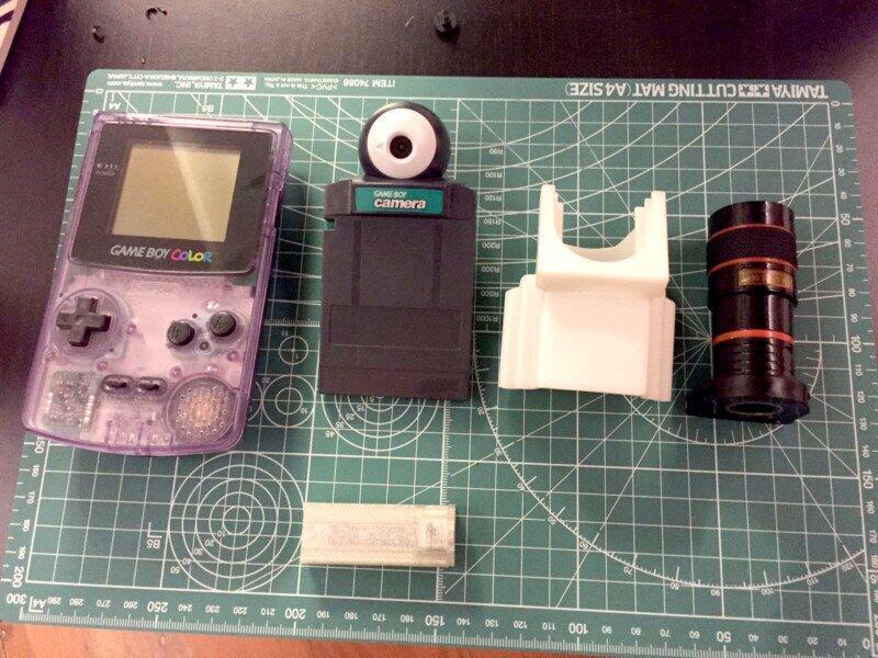 Apa jadinya, dengan Game Boy Camera, mengabadikan moment di ajang Formula 1