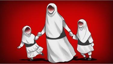 Bagaimana para perempuan menjadi pelaku teror dan membawa anak?