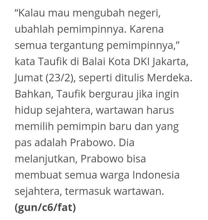 Pakai Isu Bom Surabaya Untuk Serang Prabowo