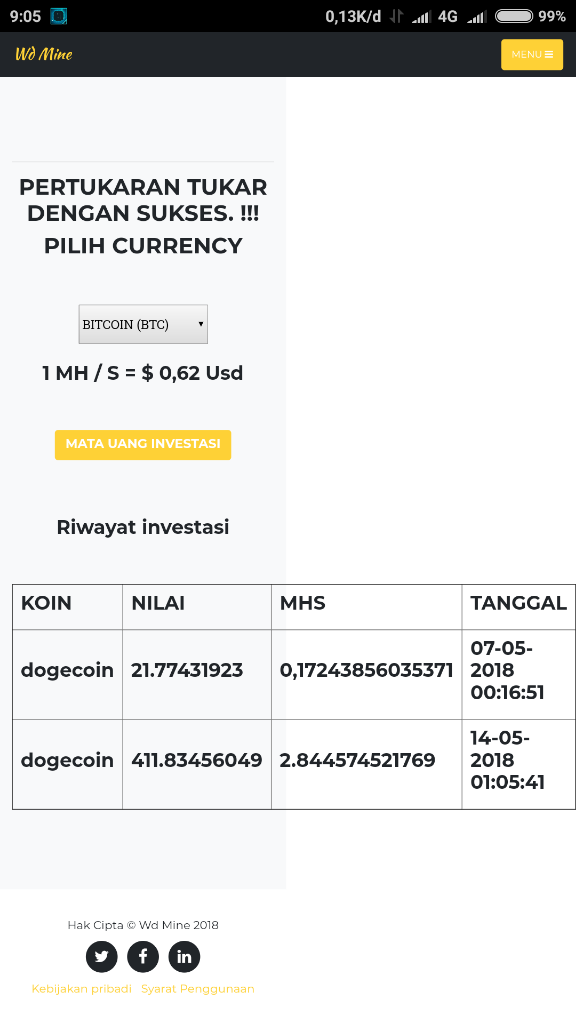 Tips Mining Bitcoin, Dogecoin Dll Dengan Cepat.