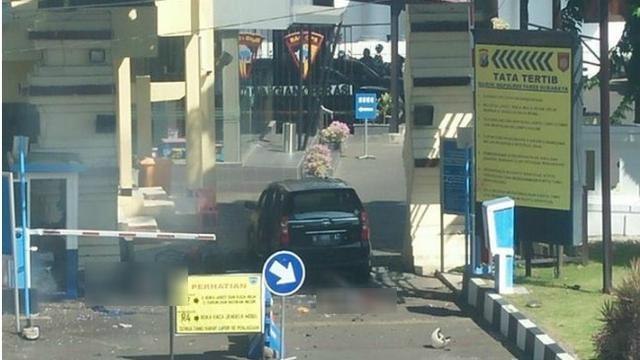 Lagi, Bom Bunuh Diri di Mapolrestabes Surabaya