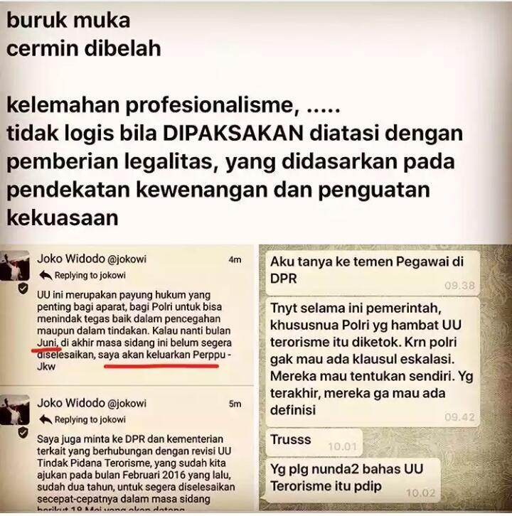 Biadab! Ternyata Gerindra, PKS dan PAN Menolak Revisi UU Terorisme!