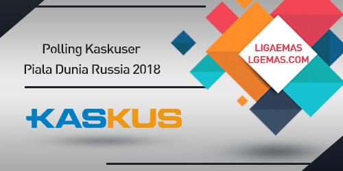 Polling Pemenang Piala Dunia Russia 2018