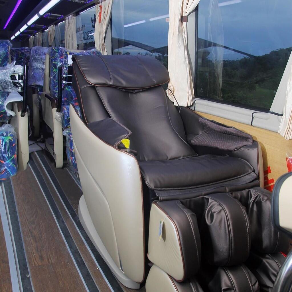 Bus AKAP Ini Punya Lebih dari Satu Layanan Kelas dalam Satu Busnya