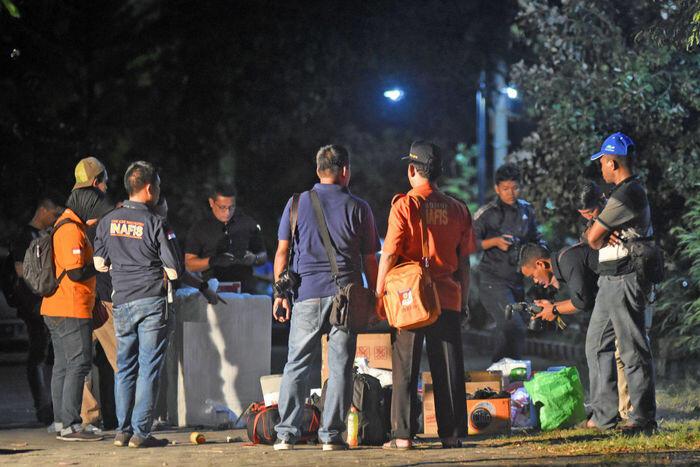 Bom meledak di rusunawa, 3 orang tewas