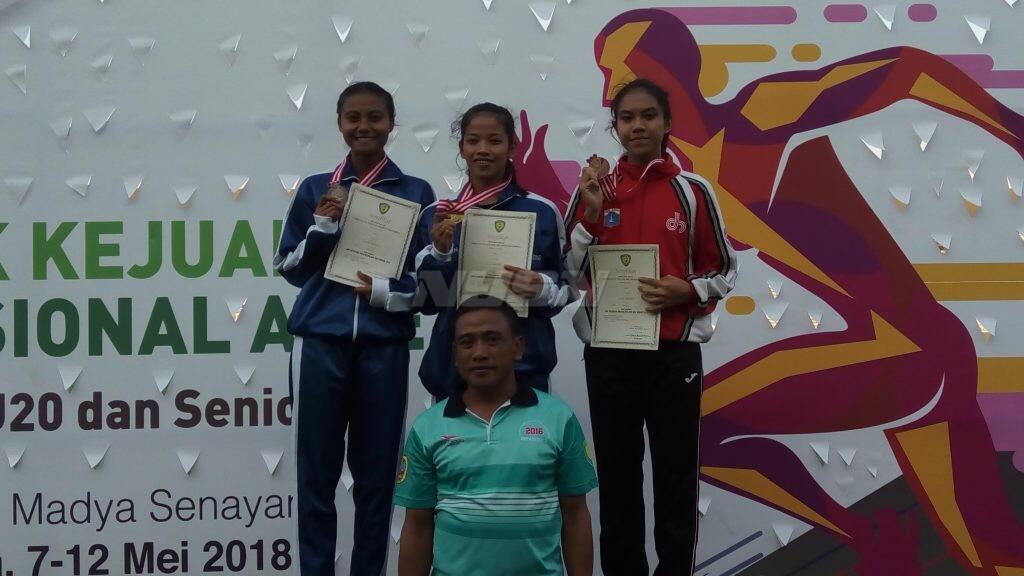 Raih Emas Kejurnas Atletik 2018, Bidik Kejuaraan Junior Asia di Jepang