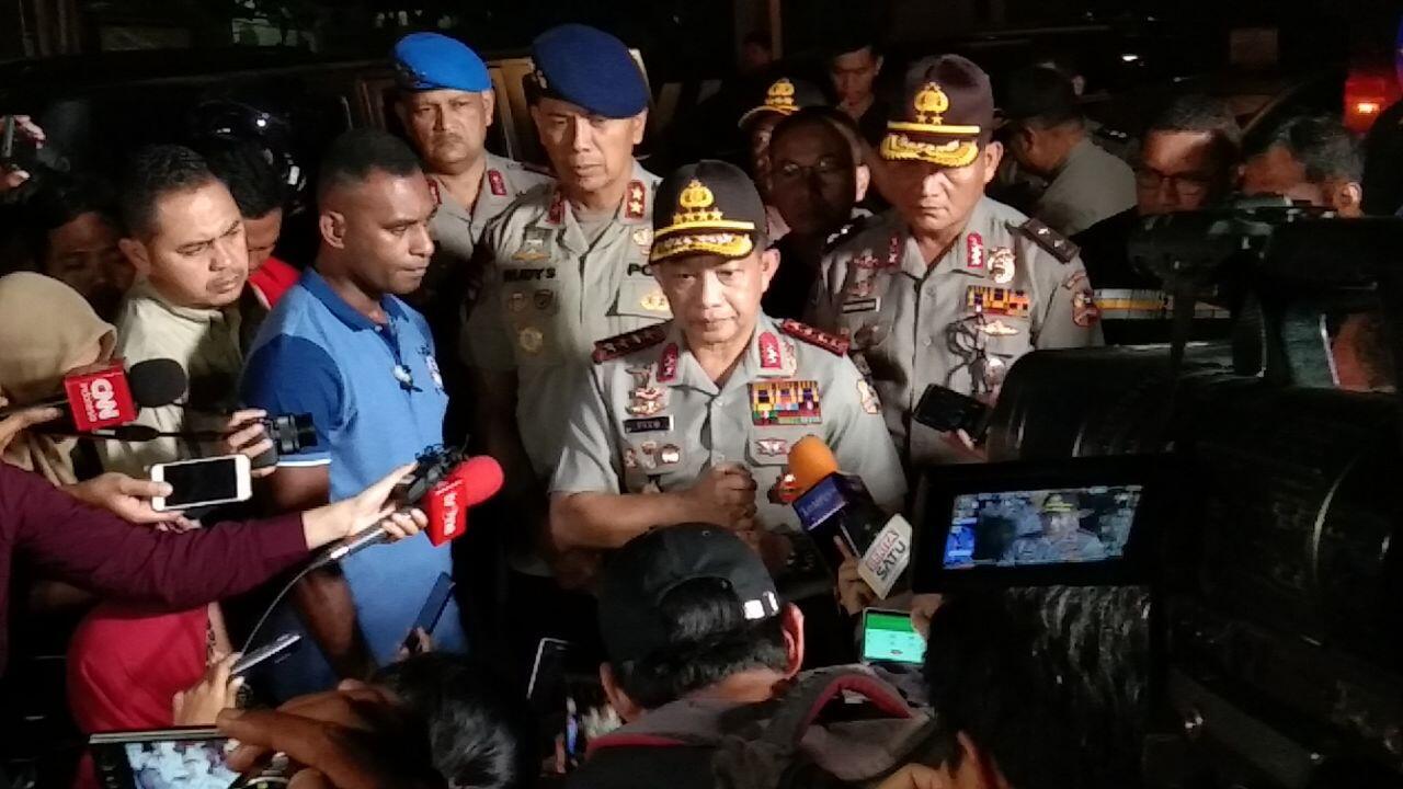 Lawan Terorisme, Kapolri Setuju TNI Dilibatkan