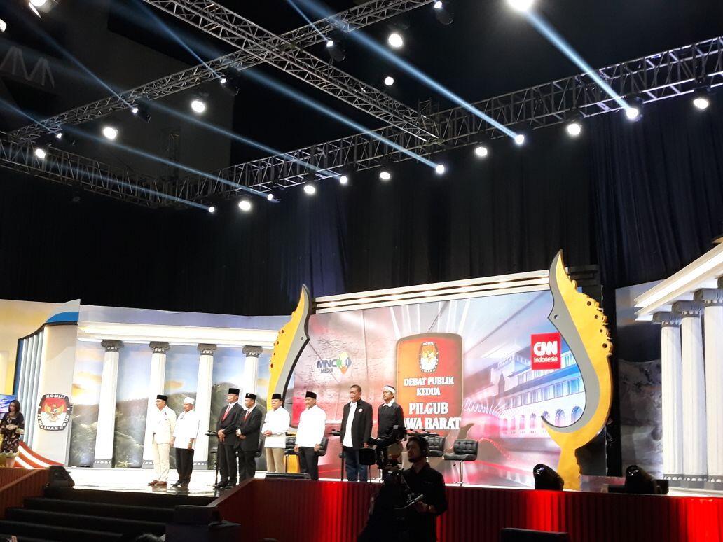 "Debat Pilgub Jabar: Begini Para Paslon 'Memotret"" Persoalan Petani"