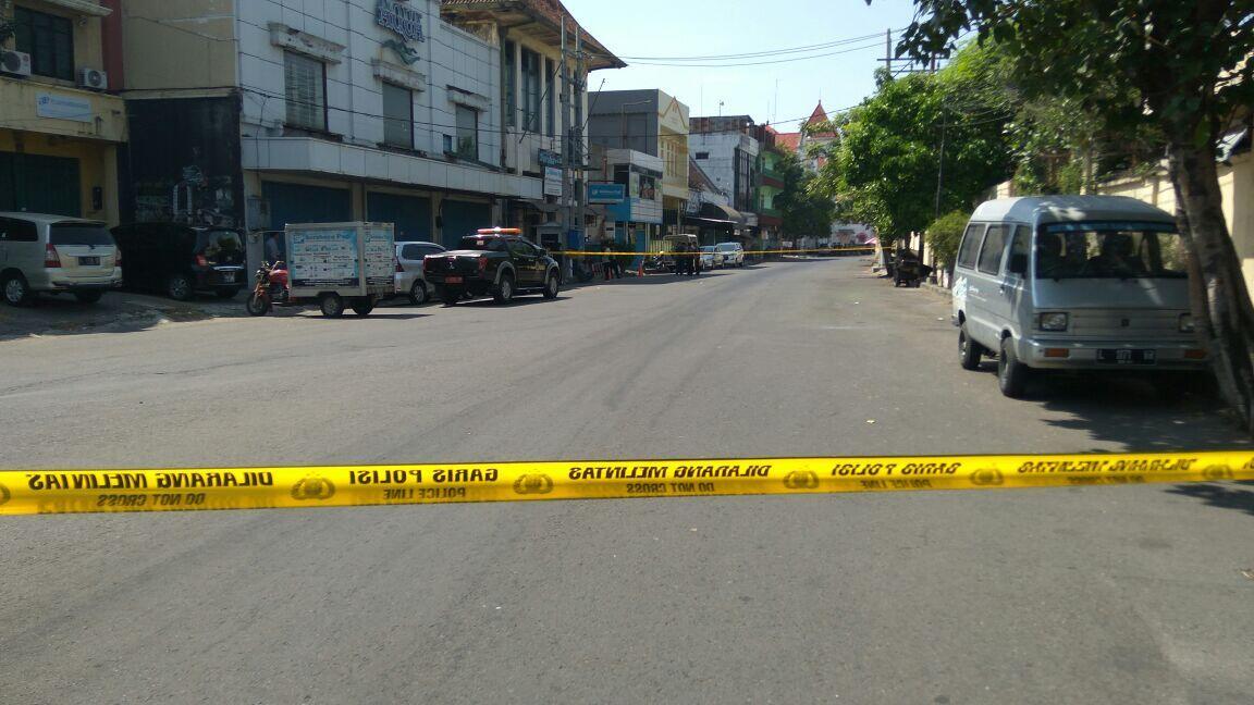 Pelaku Bom Polrestabes Tunggangi Dua Motor Beriringan
