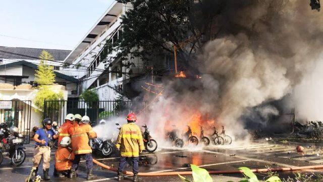 Presiden: Terorisme di Surabaya Biadab, Negara Tak Akan Biarkan Tindakan Pengecut Ini