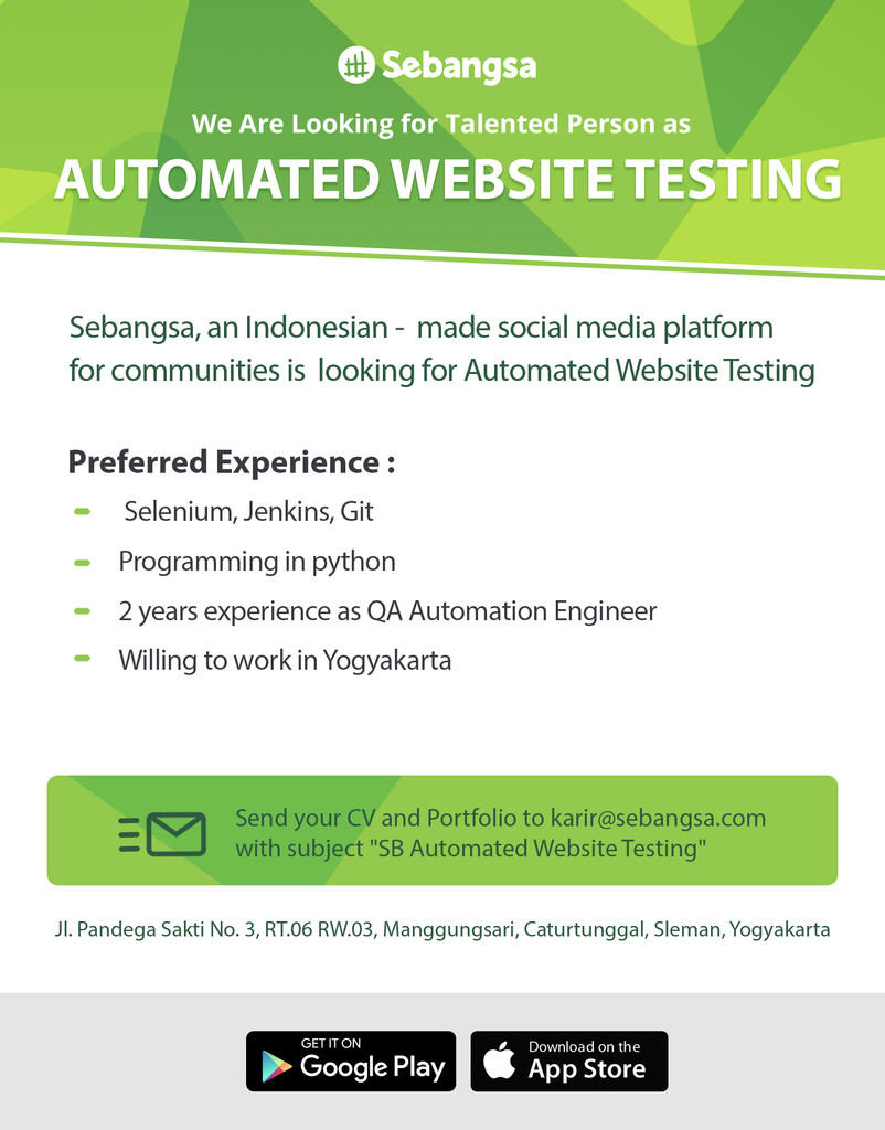 Automated Website Testing