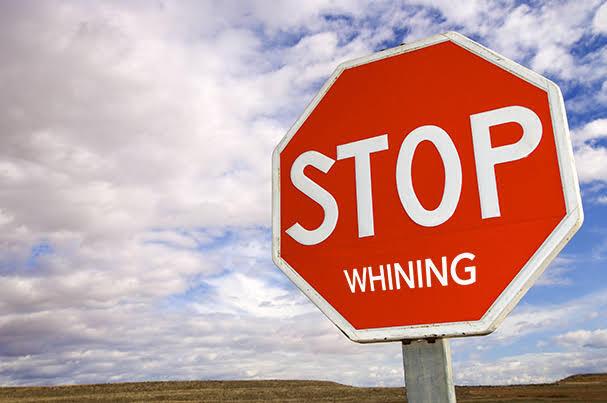 Whiner Or Winner (Pengeluh Abadi atau Pemenang)