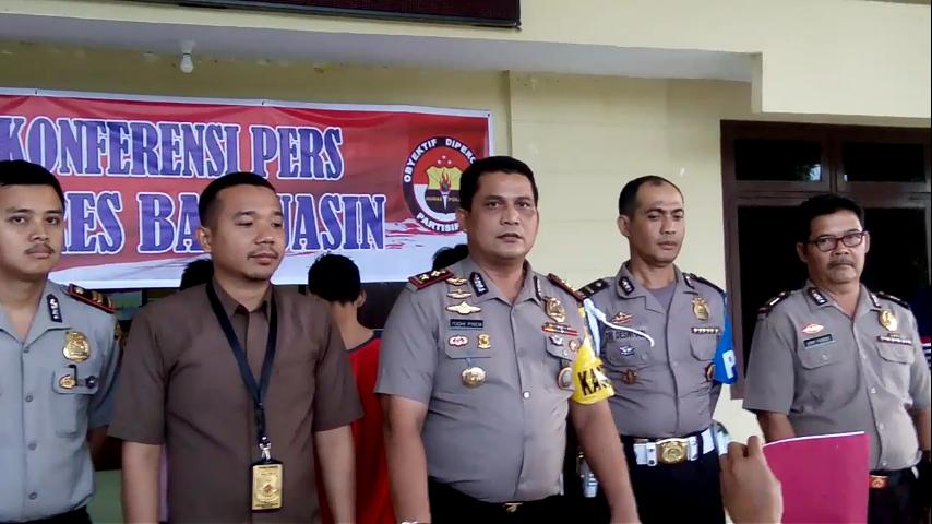 Polres Banyuasin Berhasil Bekuk Pelaku Pembunuhan Dalam Waktu Lima Jam