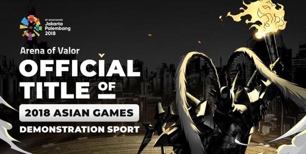 AOV jadi salah satu game yang terpilih di ASIAN Games 2018!