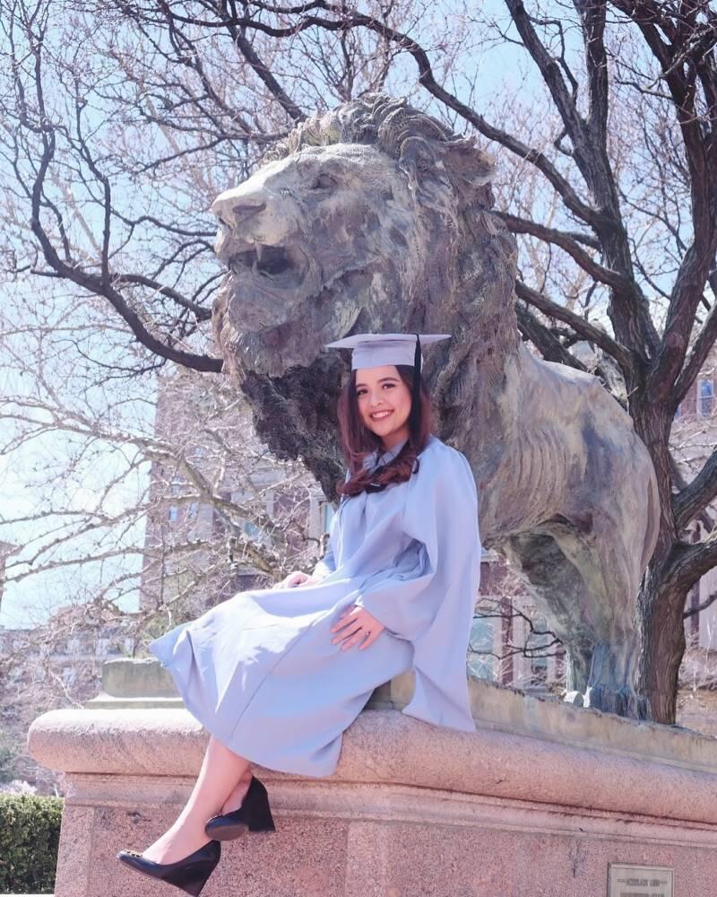 Bergelar Master di Columbia University, Momen Wisuda Tasya Kamila yang Membanggakan!