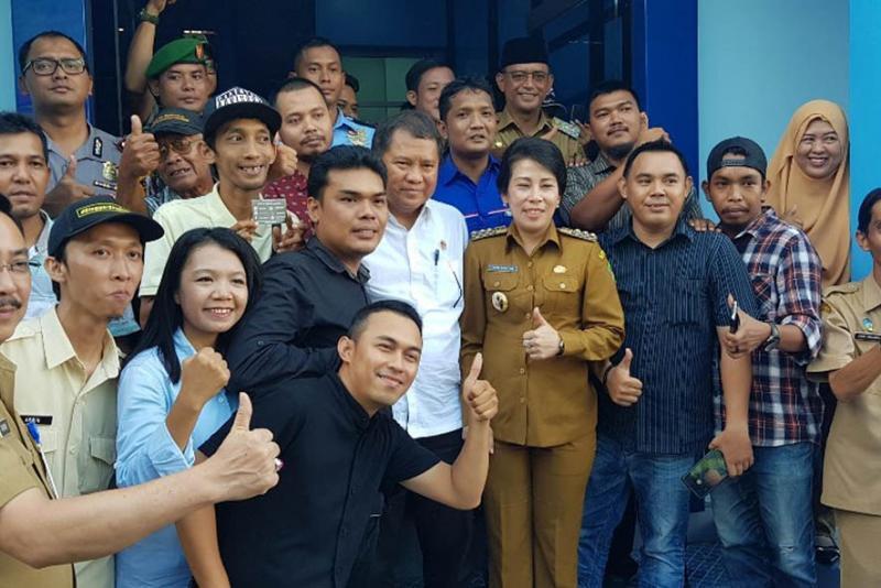 Cerita dari Singkawang, Menkominfo Ajak Bangun Dialog Lewat Media Center