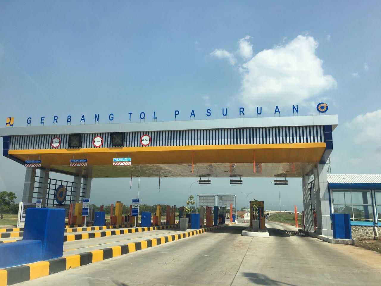Tol Rembang-Pasuruan 6,6 km Fungsional Saat Mudik Lebaran 2018