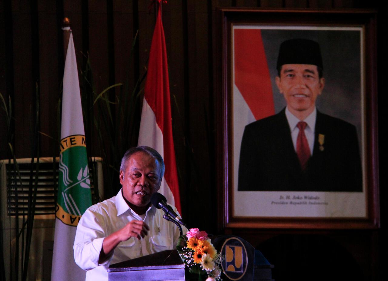 PUPR Ajak Kementerian Terkait Tingkatkan Kontribusi Pengelolaan Irigasi