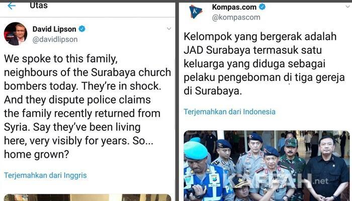 Jurnalis Media Australia Ungkap Polisi Tak Akurat Soal Pelaku Bom Surabaya?