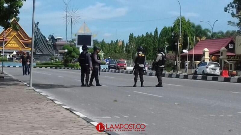 Terjadi Lagi, Terduga Teroris Serang Mapolda Riau