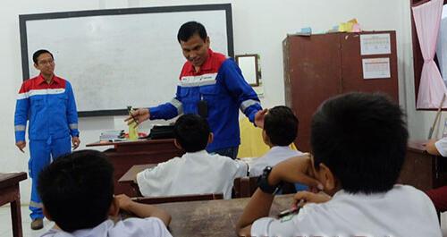 Peduli Pendidikan, Insan Pertamina Jadi Relawan Pendidik