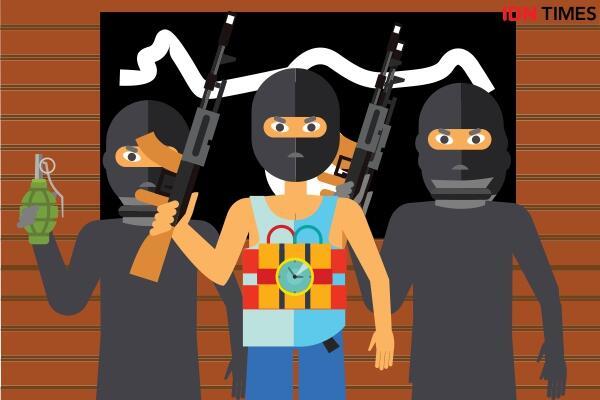 Mapolda Riau Diserang Teroris, Begini Kronologisnya