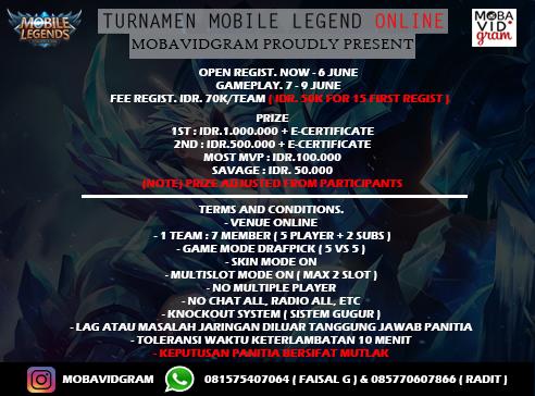 Turnamen Mobile Legend