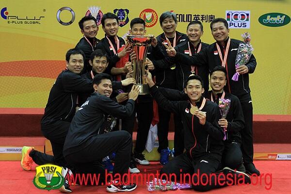 Selamat Berjuang, Tim Piala Thomas dan Uber Indonesia!