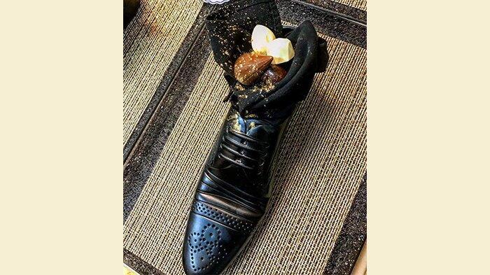 DIKECAM BANYAK PIHAK! PM Jepang Disuguhi hidangan didalam Sepatu oleh PM Israel
