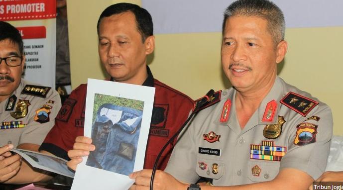 Kapolda Jateng Minta Warga yang Tidak Bergaul Dilaporkan Ke Polisi.
