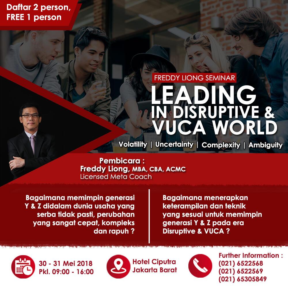 LOKAKARYA : Leading in Distructive & VUCA World