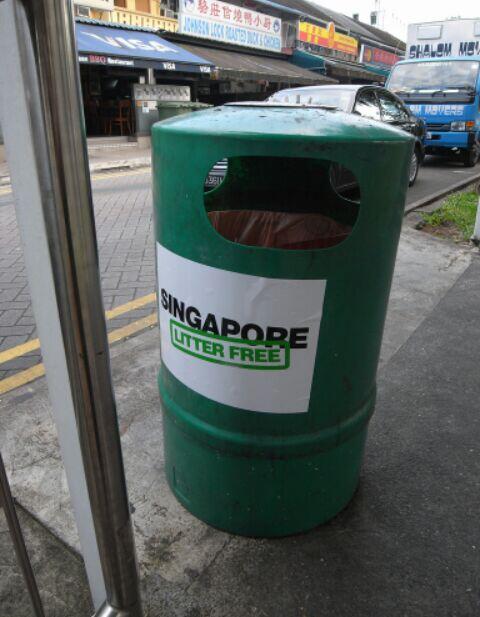 [COC GL] Denda Bagi Pembuang Sampah Sembarangan