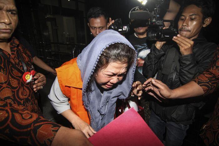 Rekor pasutri pejabat Bengkulu terjerat korupsi