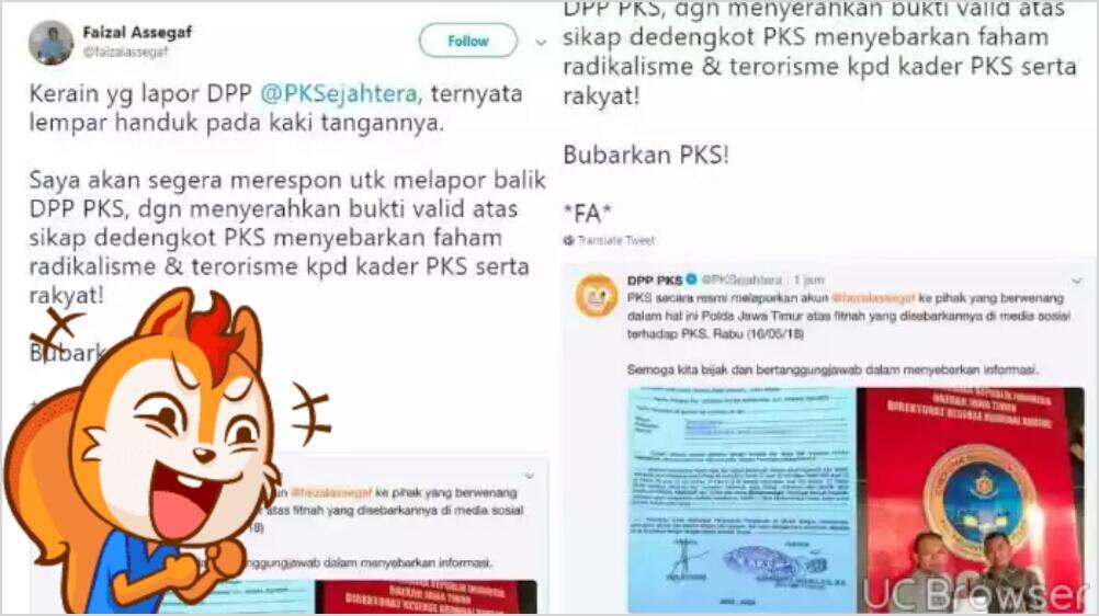 Dilaporkan ke Polisi oleh PKS, Faizal Assegaf Beri Ancaman: Banyak Petunjuk Akan Saya