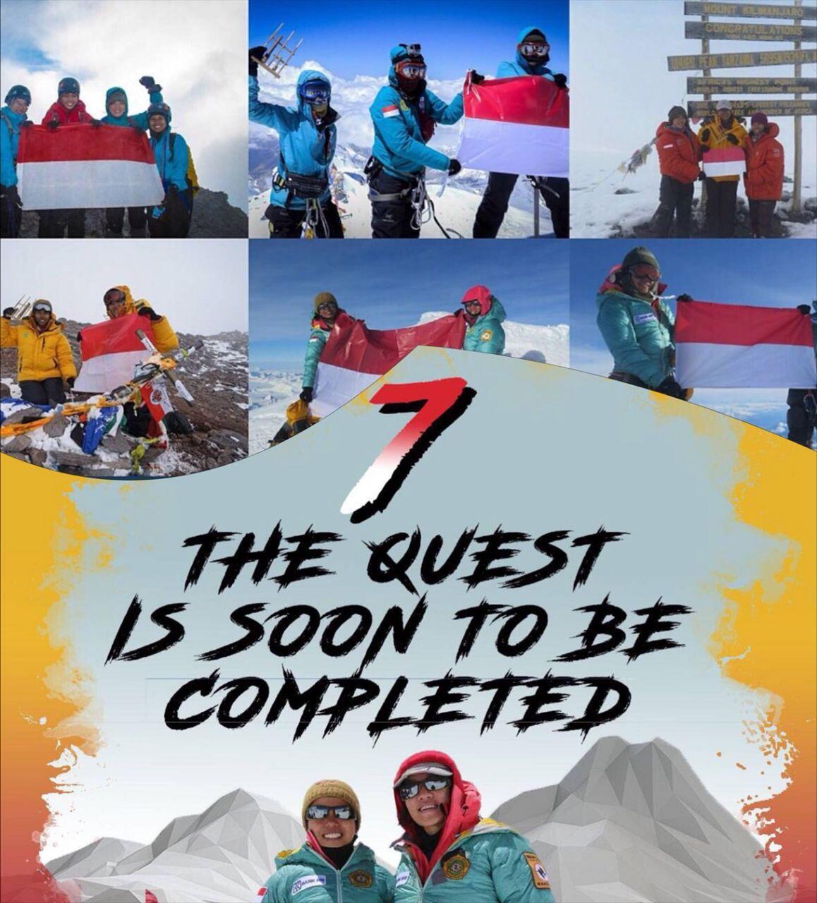Membanggakan! Dua Mahasiswi Tangguh Ini Berhasil Capai Puncak Everest