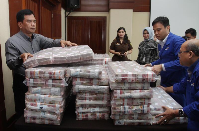 Ketika Terpidana BLBI Samadikun Hartono Serahkan Uang Rp 87 Miliar Tunai