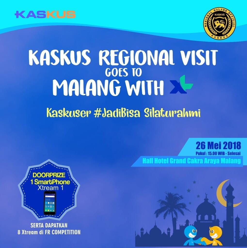 """Bukber Regional Malang """"Kaskuser #jadibisasilahturahmi"""""""