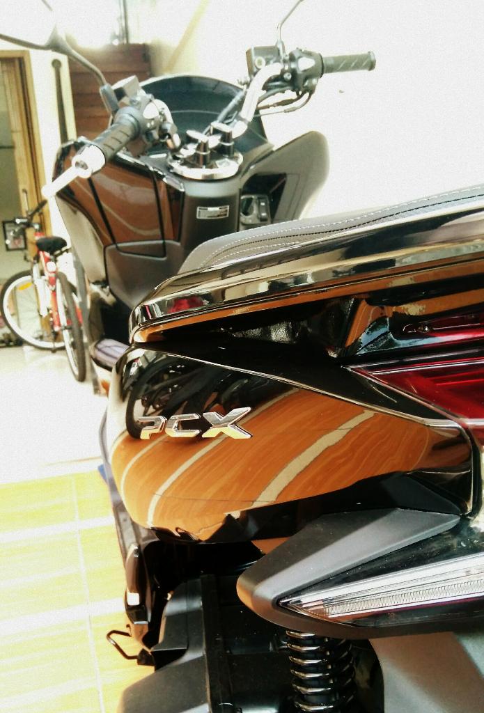Motor Honda PCX 2018 Ane Akhirnya Datang Juga Gan!
