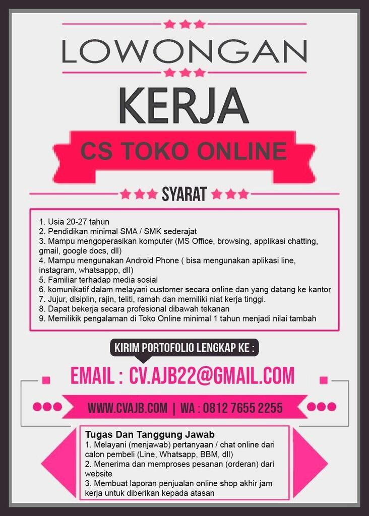 Lowongan Kerja Jakarta Selatan | KASKUS