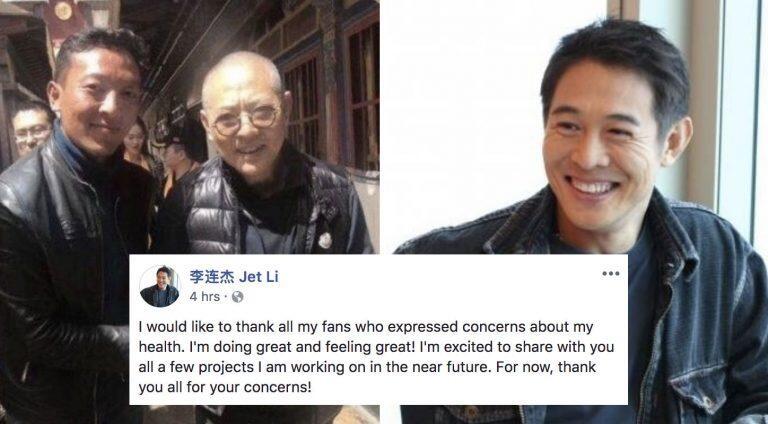 "Foto Penampakan ""JET LI"" Terbaru ini Bikin Banyak Fans nya Sedih"