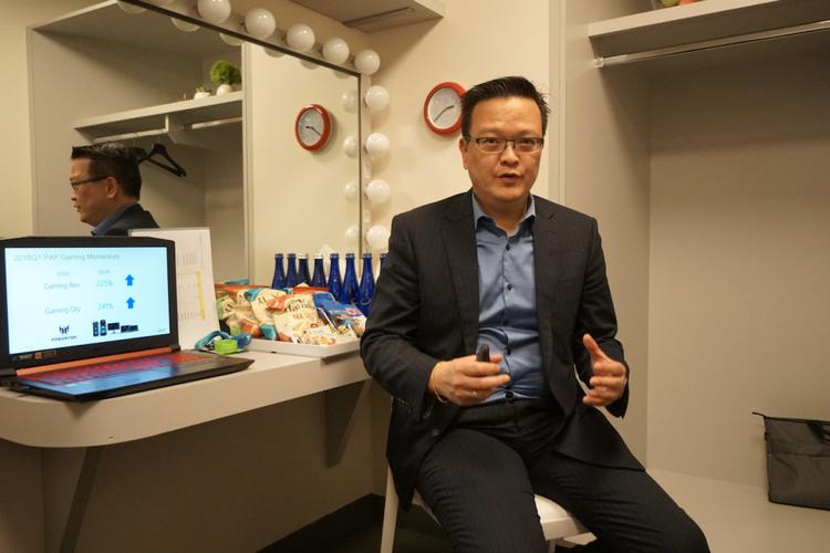 """Bos Acer Komentari Selera Orang Indonesia untuk Laptop """"Gaming"""""""
