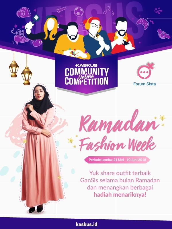 Ramadhan Fashion Week 1439 H - Share Your Happiness  5cbc42d019