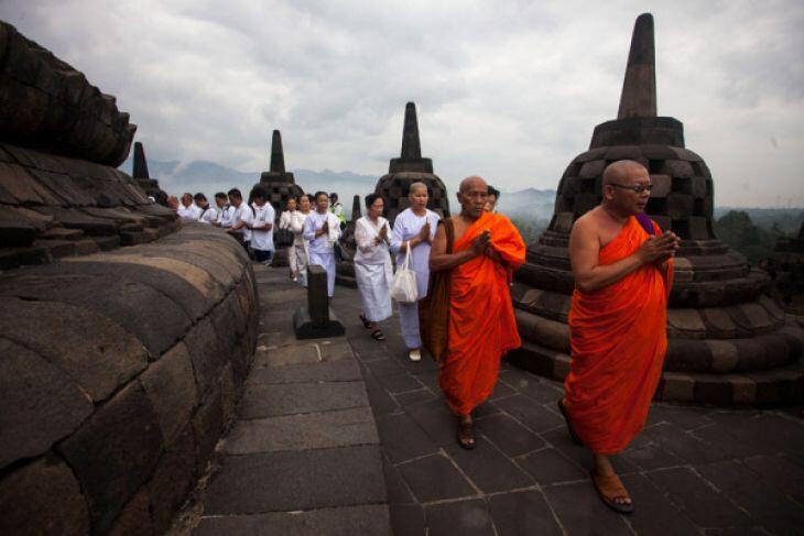 Kemenpar Jadikan Puncak Perayaan Hari Waisak 2018 Untuk Promosikan Borobudur