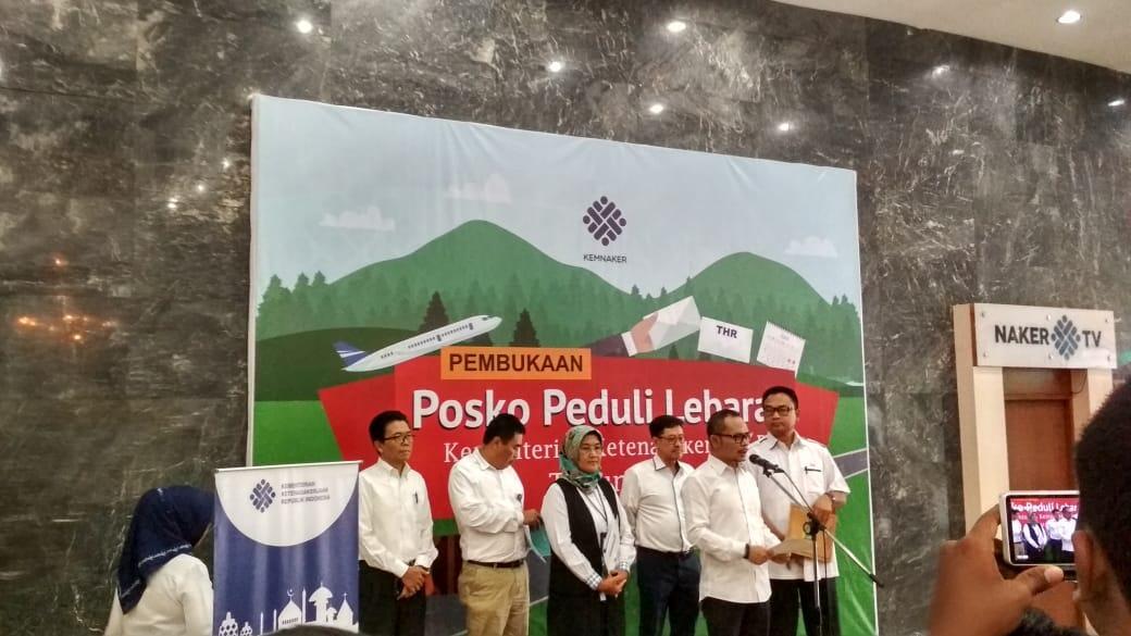 Ada 3028 Pengaduan Soal THR, Paling Banyak di Jawa