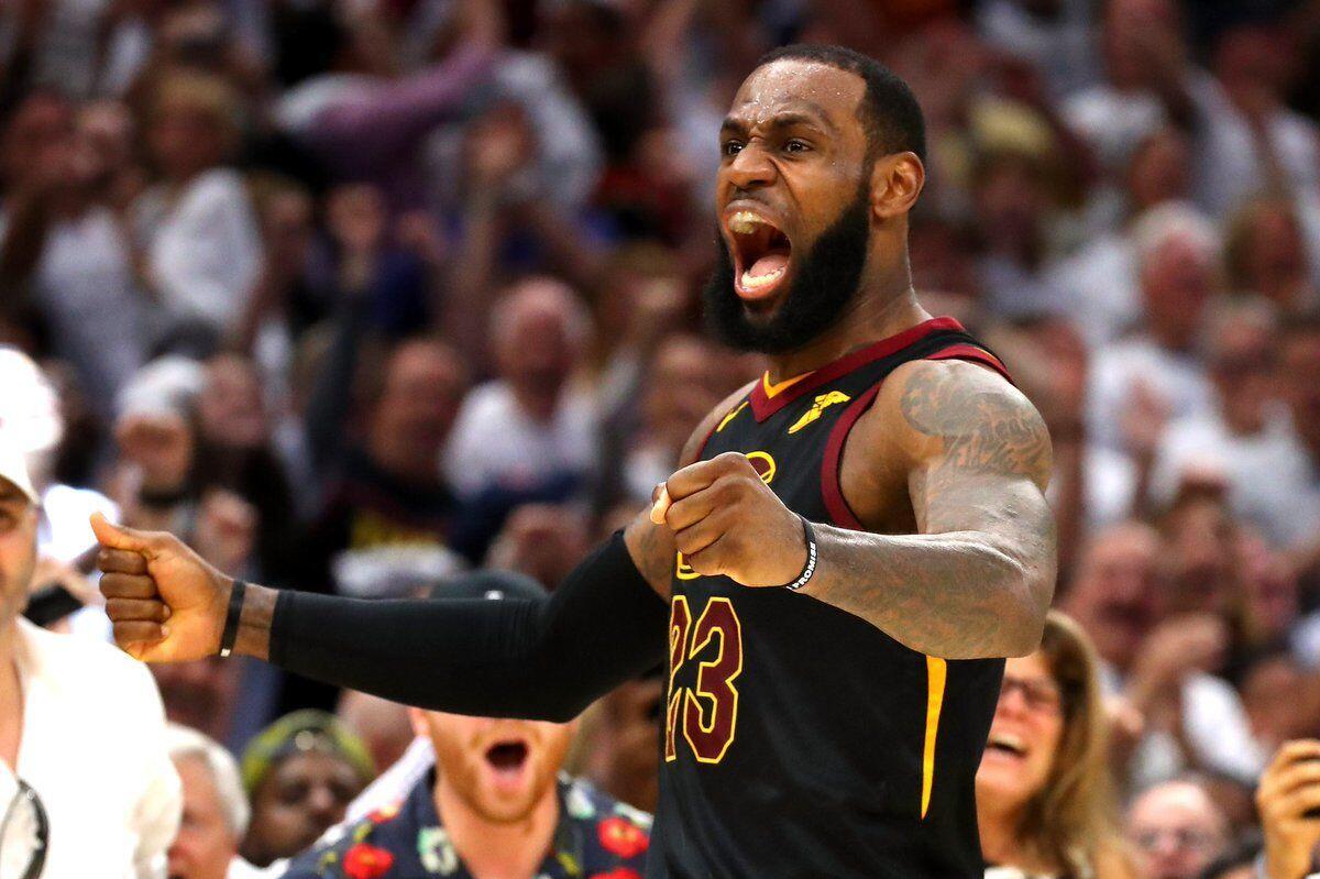 LeBron Jadi Pahlawan Cavaliers Menuju Final NBA 2018