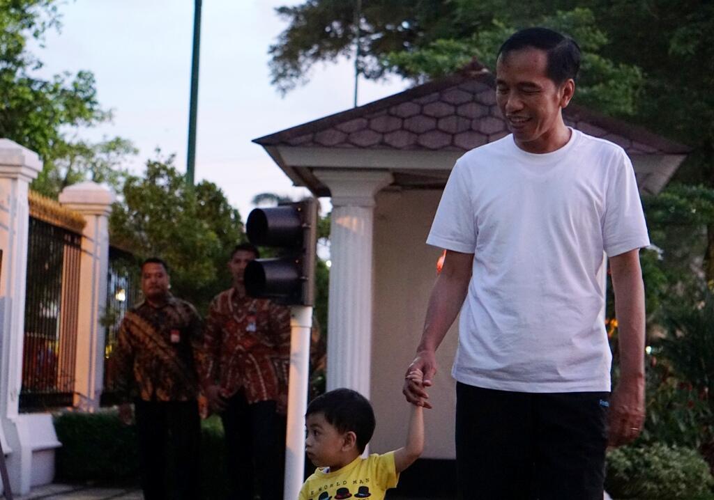 Presiden dan Keluarga Ngabuburit di Dufan