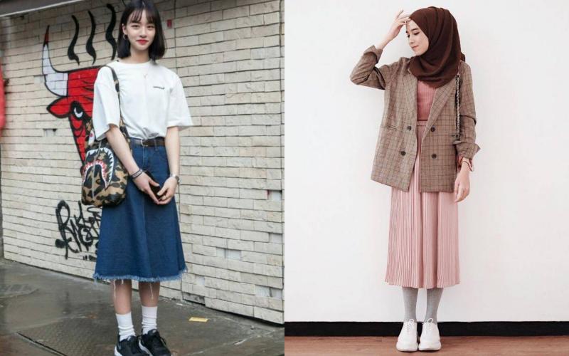 Lebih Kalem dan Girly, Inspirasi Midi Skirt Ini Layak Dicoba di Bulan Baik Ini